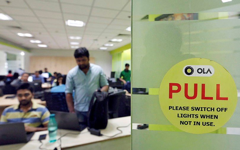 Ola's cab-leasing arm swings to a loss in FY16