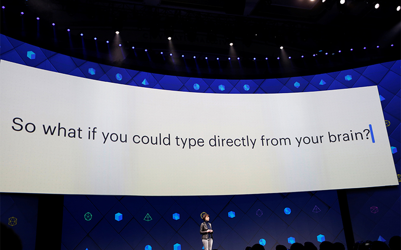 Facebook reveals unit studying ways to let you type with your brain
