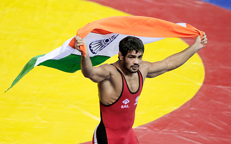 Olympic wrestler Sushil Kumar puts weight behind Sports Flashes
