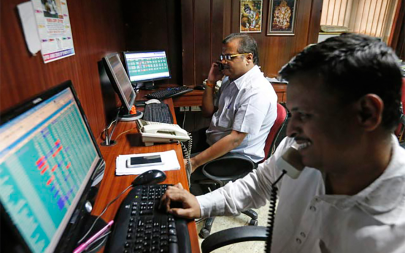 Sensex ends in green, snaps two-day fall