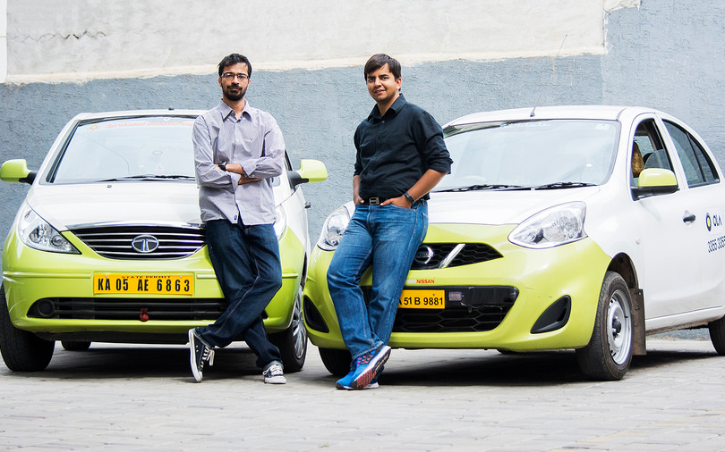 Ola founders booked for playing 'pirated' music in cabs