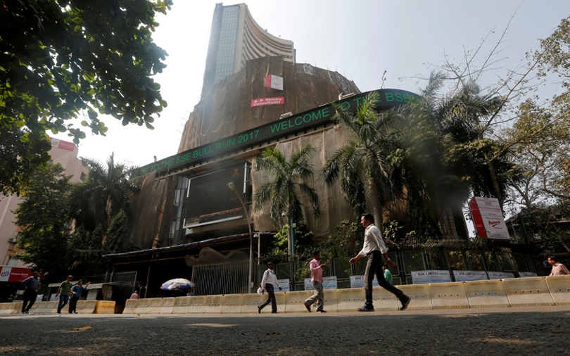 Sensex closes flat; IT, pharma gain