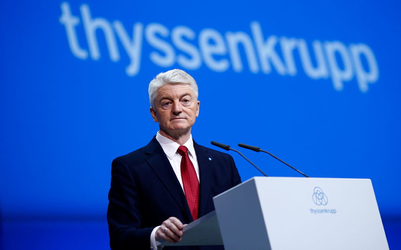 Thyssenkrupp CEO pushes for deal with Tata Steel Europe by end-Sept