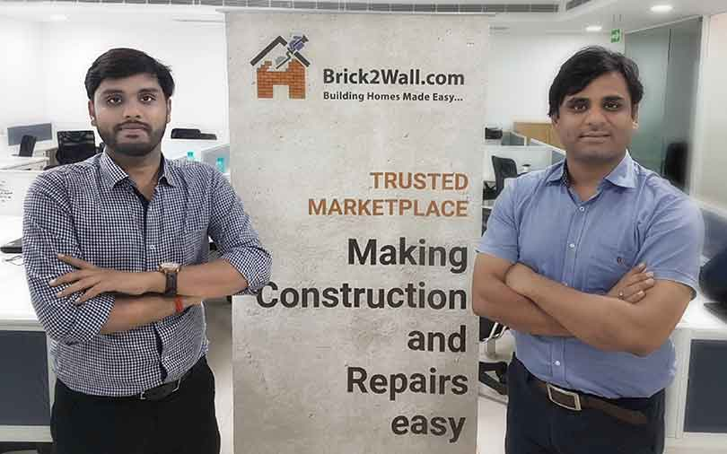 Building materials marketplace Brick2wall gets angel funding
