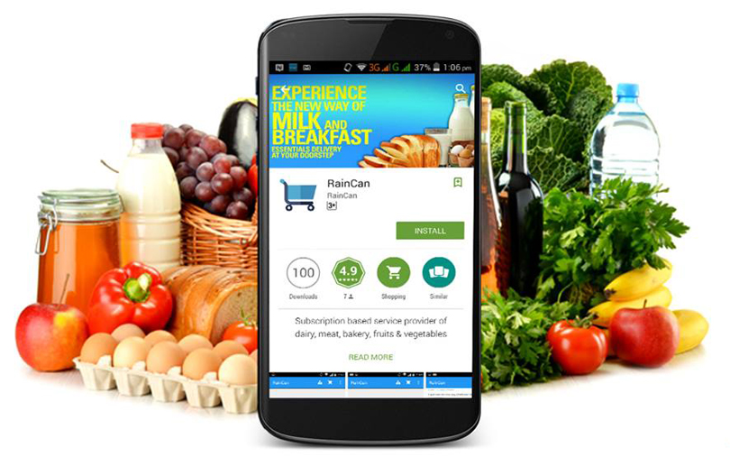 Subscription-based e-grocery startup RainCan raises pre-Series A funding