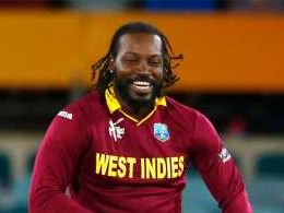Chris Gayle takes the crease for augmented reality startup FlippAR
