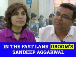 Sandeep Aggarwal on Droom's plans, becoming an investor and more