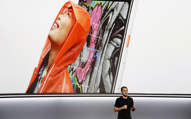 Google unveils second-gen Pixel phone, voice-enabled speakers