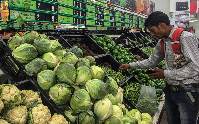 Retail inflation quickens to seven-month high in October