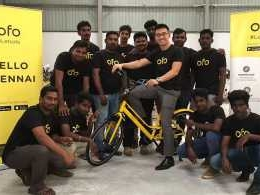 Chinese bicycle sharing unicorn Ofo enters India