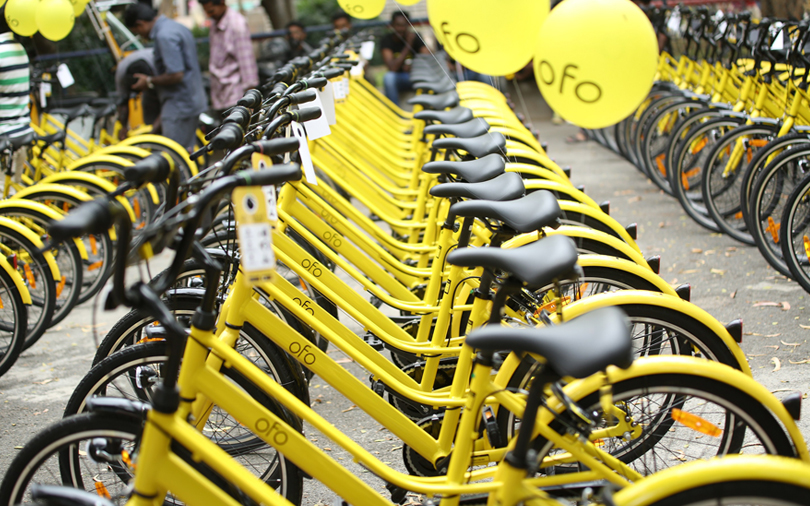 Chinese bicycle sharing unicorn ofo partners with Paytm for India services