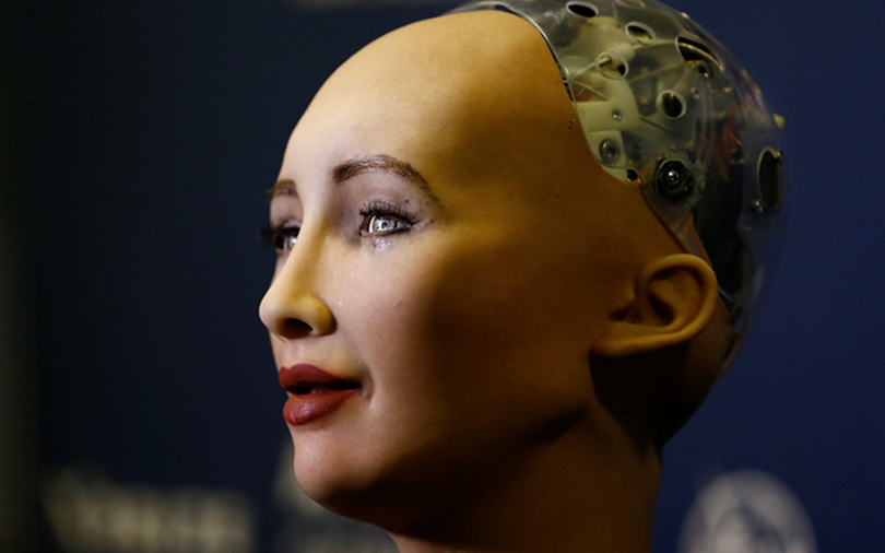 Sophia, world's first robot citizen, is now being trained to save lives