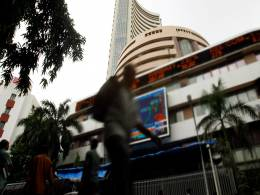 Sensex posts highest close in a fortnight