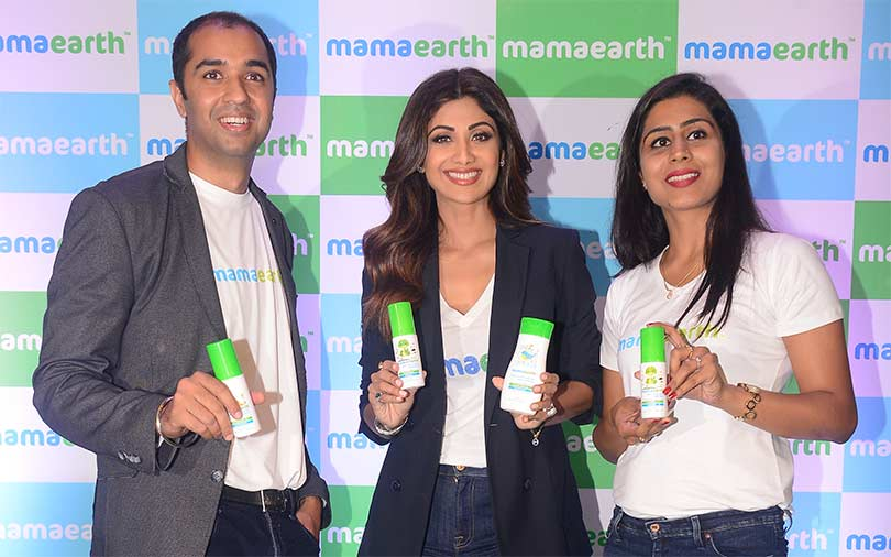 Shilpa Shetty invests in babycare startup Mamaearth