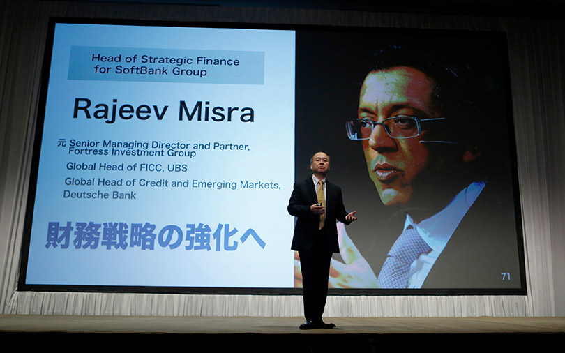 SoftBank elevates Vision Fund chief Misra; will he succeed Masayoshi Son?