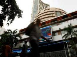 Financial stocks propel Sensex to record close