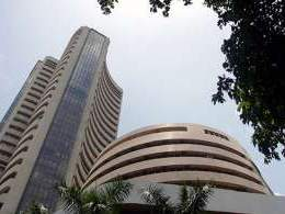 Sensex gains on boost from Yes Bank