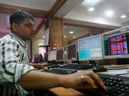 Sensex closes flat as firm rupee weighs on IT, healthcare stocks