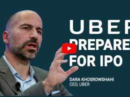 Uber CEO Dara Khosrowshahi says on track to float IPO in 2019