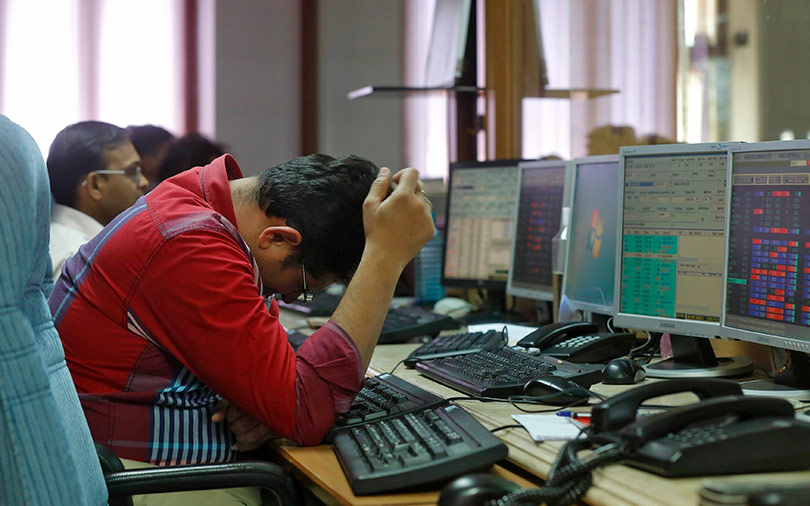 Sensex slides more than 2% in two days; rupee at new low vs dollar