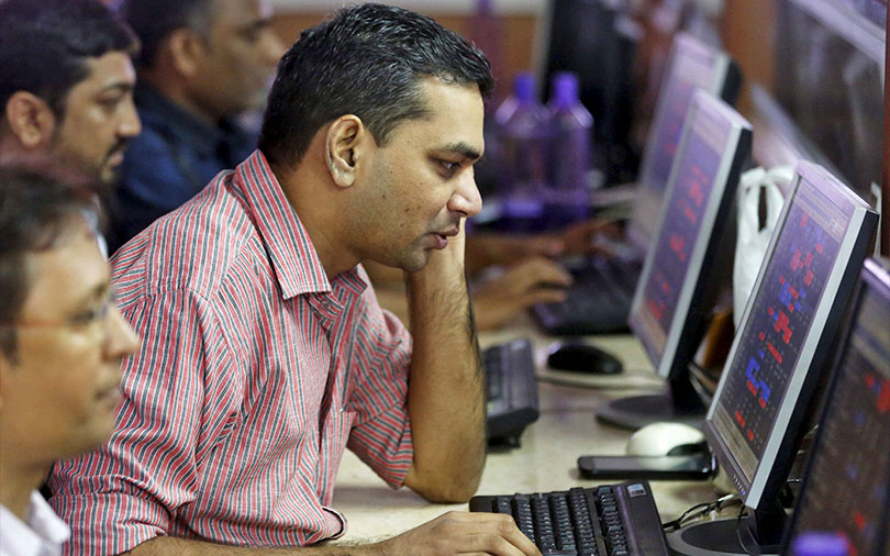 Sensex closes 1% higher after volatile trading session