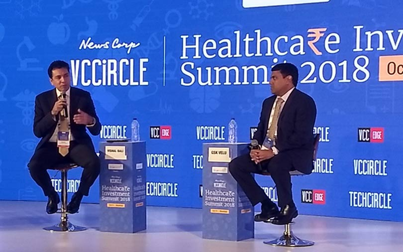 Consolidation is the way forward for healthcare: GSK Velu at VCCircle summit