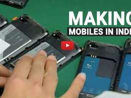 How India is becoming a smartphone-making powerhouse