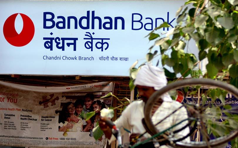 Bandhan Bank shares slump 20% on RBI curbs