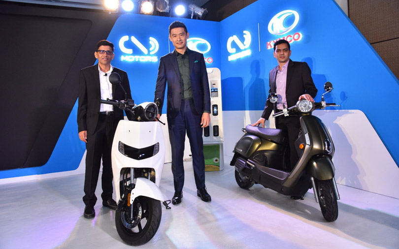 Taiwan's Kymco backs electric vehicle startup Twenty Two Motors