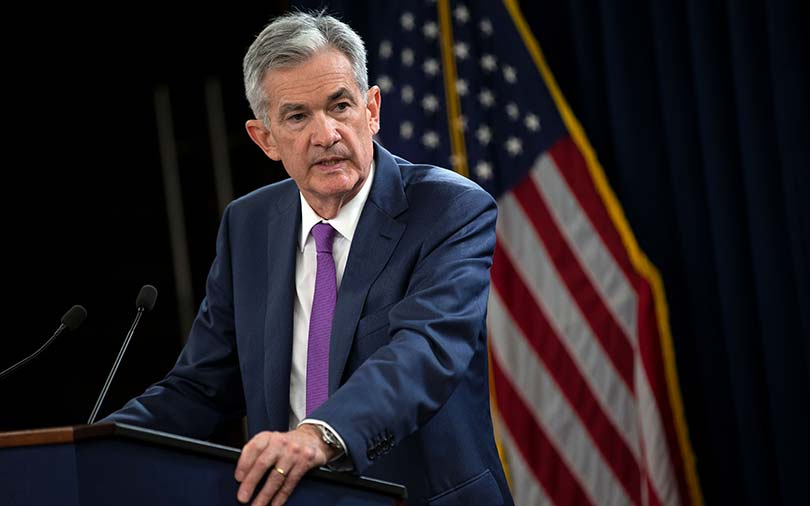 US Fed leaves rates unchanged but on track for further tightening
