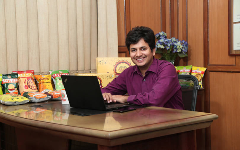 Sattviko's Prasoon Gupta on how khakhra chips turned around the firm's fortunes