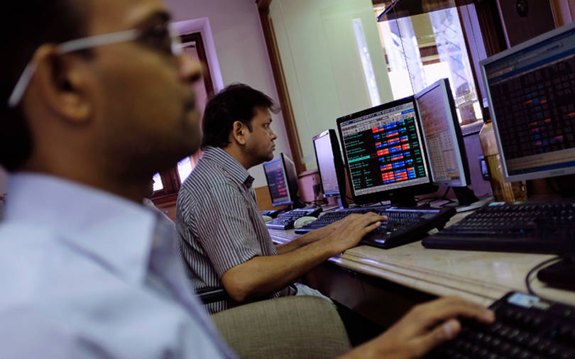 Sensex little changed but marks best close in six months